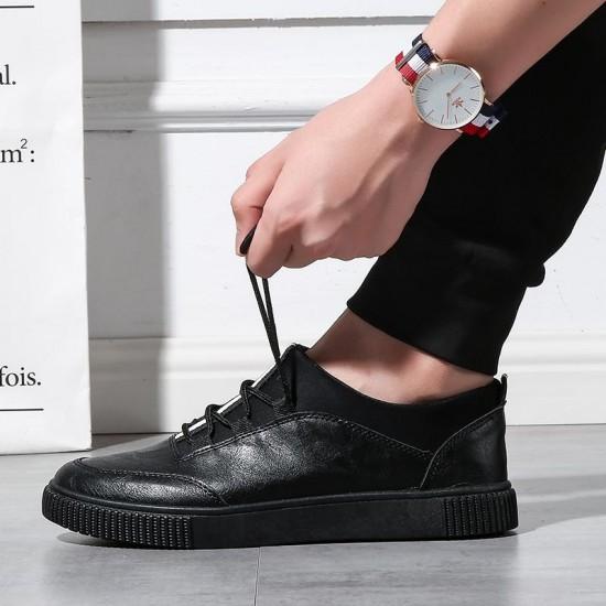 2018 Fashion Casual Canvas Shoes Men Breathable Lace Up Canvas Men Shoes Comfortable Canvas Shoes Men