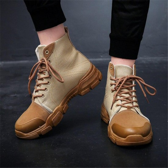 2018 New Ankle Snow Fashion Boots Winter Warm Men Boots Man Warm Waterproof Shoes