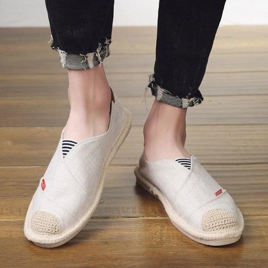 2019 Men Flats Fashion Casual Brand Designer Men Loafers Summer Breathable Mesh Men Shoes