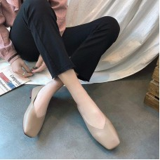 2019 Spring Moccasins Casual Shoes Designer Women Loafers Mixed Colors Ladies Flats Shoes