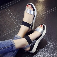 2019 Women Fashion Sandals Female Wedges Shoes   Casual Summer Platform Heel Ladies
