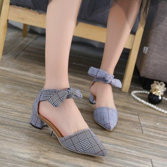 2019 fashion sexy fish mouth hollow Roman sandals thick high heels female summer Sexy female sandals