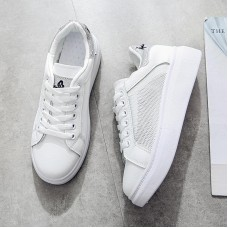 2019 new spring tenis feminino white shoes woman solid color female shoes casual women shoes sneakers