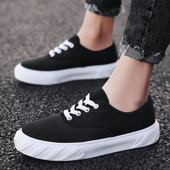2019Fashion Lightweight Lace Up Sneakers Summer Breathable Men Flats Shoes Male Footwear Men Casual Shoes