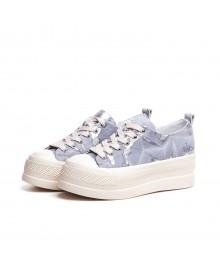 Mid Star Sneakers In Printed...
