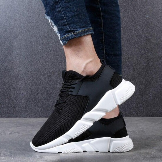 Casual Shoes Men For Sneakers Mesh Male Adult Trainers Tenis Masculino Adulto Krasovki Ultra Breathable Footwear Black Shoes