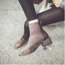 European style tide women boots British style boots Martin boots Autumn Winter 2019 new zapatos de mujer