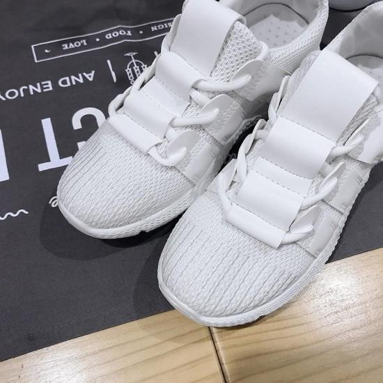 Fashion Women Casual Shoes Mesh Sneakers Platform 2019 Women Breathable Air Mesh Flats Lace Up Shoes Female Walking Footwear