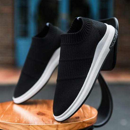 Hot Sale Mens Shoes Casual Plus Size Fashion Trainers Sneakers For Men Popular Design Comfortable Man Walking Shoes