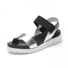 Hot Sale Women Shoes Sandals Peep-Toe Slip On Shoes Flat Summer Sandals For Women Sandalias Mujer 2018 Ladies Sandals