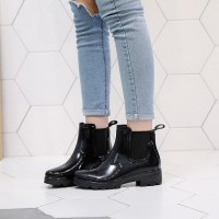 Leather Boots Women Short...