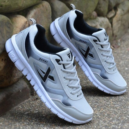Net Vulcanized Shoes Men Casual Shoes Autumn Summer Breathable Lightweight Mesh Men Trainers Bottom Walking Shoes Men Sneakers