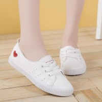 White Sneakers Women Shoe...