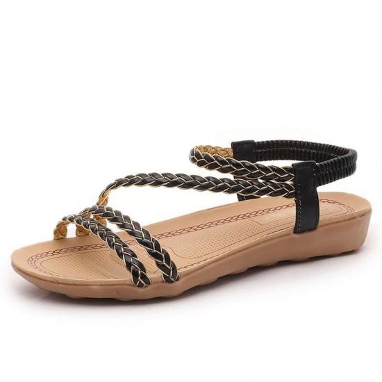 Women Fashion Flat Shoes  Leisure Lady Sandals  Outdoor Shoes