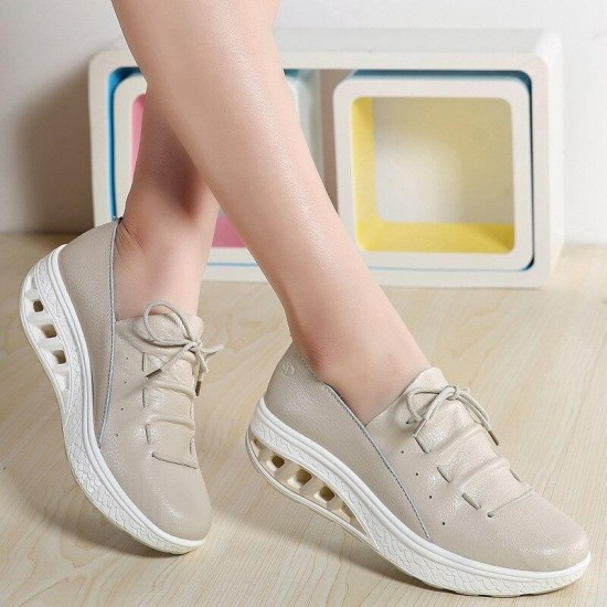 Women'S Casual Shoes Fashion Women Wedges Sneakers Platform Shoes Chaussure Femme 2019 Designer Shoes For Wome
