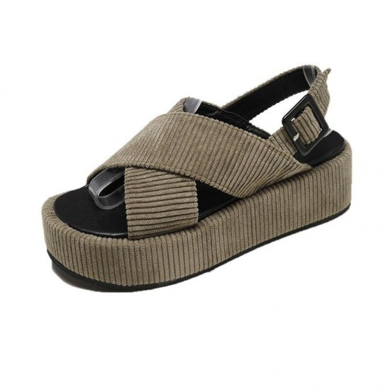 Women Sandals Fashion Casual Shoes For Woman European Rome Style Sandals Female