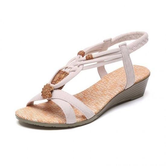 Women Sandals Summer  Casual Flat Sandals Ladies Shoes