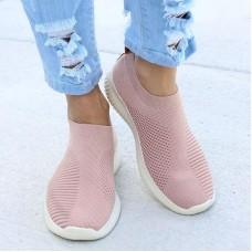 Women Shoes Sneakers Flyknit Sock Sneake...