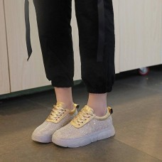 Women Sneakers 2019 Fashion Casual Shoes Woman Comfortable Breathable Mesh Flats Female Platform Sneakers