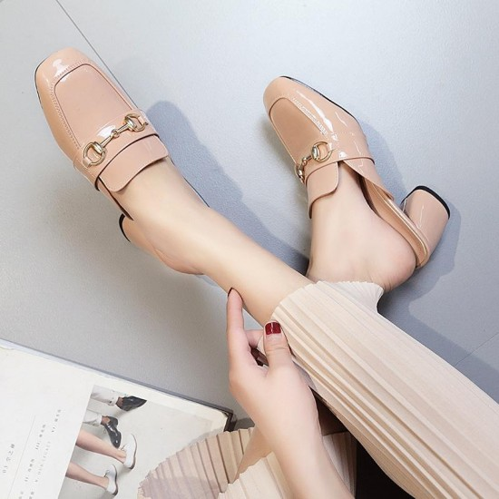 Women Wedges Square Heel Footwear Comfort Sandals Summer Sexy Female Casual High Heeled Shoes