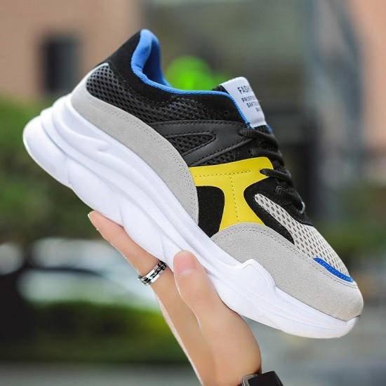 adult Men Casual Shoes Autumn Lace-up Comfortable Style waterproof Fashion Man Shoes