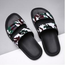 Pantofole da bagno Degli Uomini di Luce Pantofole A Casa Mans Colorflage Verde Mens Piattaforma Casual Sandali Piatti Piscina Scivolo Sandali