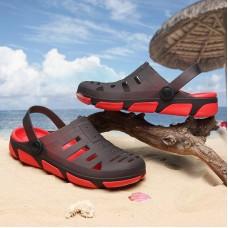Sandali da spiaggia Per Gli Uomini di Estate Della Gelatina di Scarpe Da Uomo Scarpe Giardino Sandali Confortevole Pantofola Degli Uomini di Massaggio di Modo Maschio Sandali Piatti