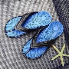 Pantofole da uomo Infradito Blu Rosso Scarpe Da Uomo Casual Della Spiaggia di Estate Flip Flop Pantofole Per Gli Uomini Degli Uomini di Scarpe Da Casa bagno Presentazioni aziende produttrici giochi