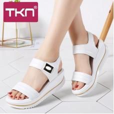 TKN 2019 donne di estate piatto sandali ...