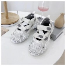 2019 Hook Loop Distressed Sneakers Round Toe Women Shoes Autumn Zapato De Mujer Slip On Casual Shoes Fashion Flat Platform Shoes