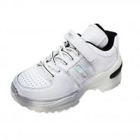 Chunky Sneakers Women Lea...