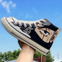 Women Anime Sneakers Lace...