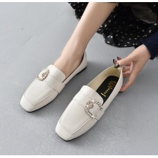 Fashion High Quality Women Flats Solid Color Woman Loafers Breathable Flat Shoes Woman Zapatos Mujer Summer Shoes